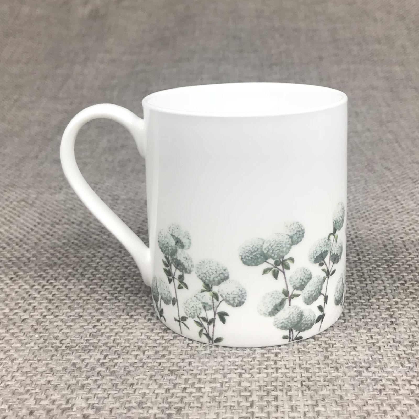 Viburnum Large Mug - aqua